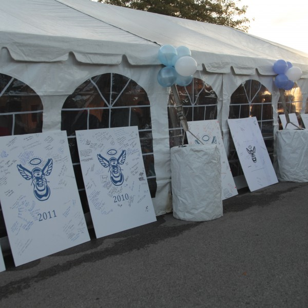 """Family Tent at """"This Run's For Jack"""""""