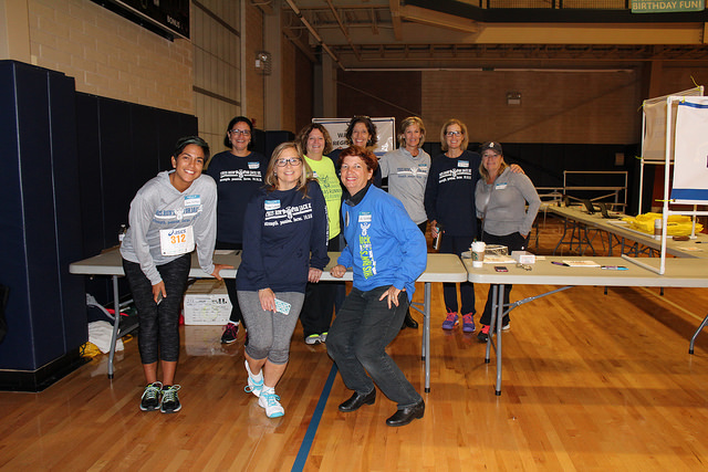 Packet Pickup Volunteers